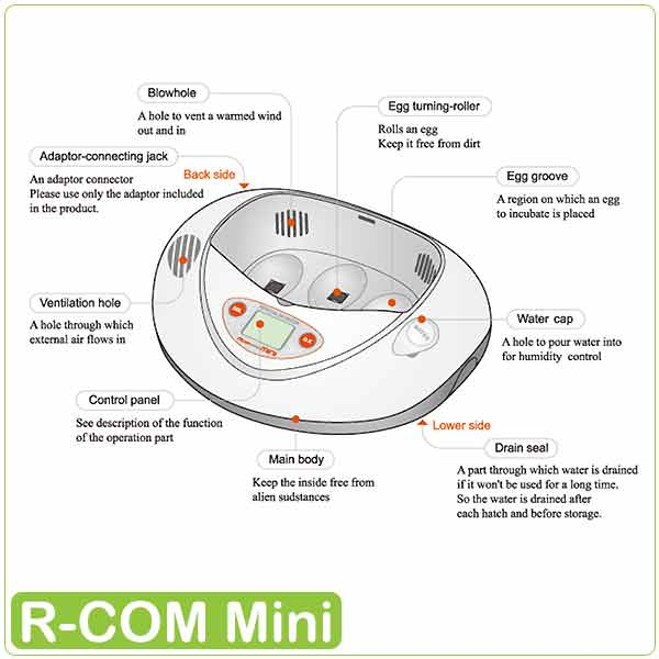مشخصات دستگاه جوجه کشی آرکام 3 تایی - چیکن هچ