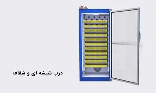 تصویر درب دستگاه جوجه کشی بلدرچین دماوند