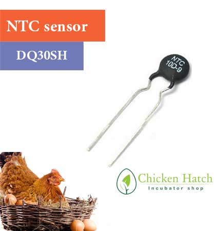 سنسور دما و رطوبت در دستگاه جوجه گیری بلدرچین دماوند مدل dq30sh-چیکن هچ