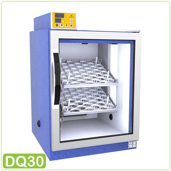 طراحی دستگاه جوجه کشی بلدرچین دماوند 84 تایی - چیکن هچ