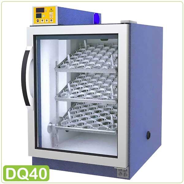 طراحی دستگاه جوجه کشی بلدرچین دماوند 126 تایی - چیکن هچ