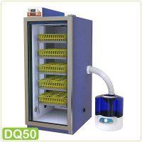 دستگاه جوجه کشی بلدرچین دماوند dq50 - چیکن هچ